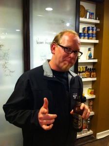Eric in Sam's Kitchen!
