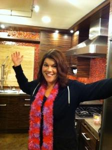 Me in Sam's kitchen