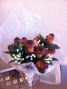 Purrrrty Bacon Roses