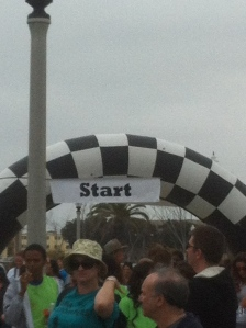 The Starting Line!